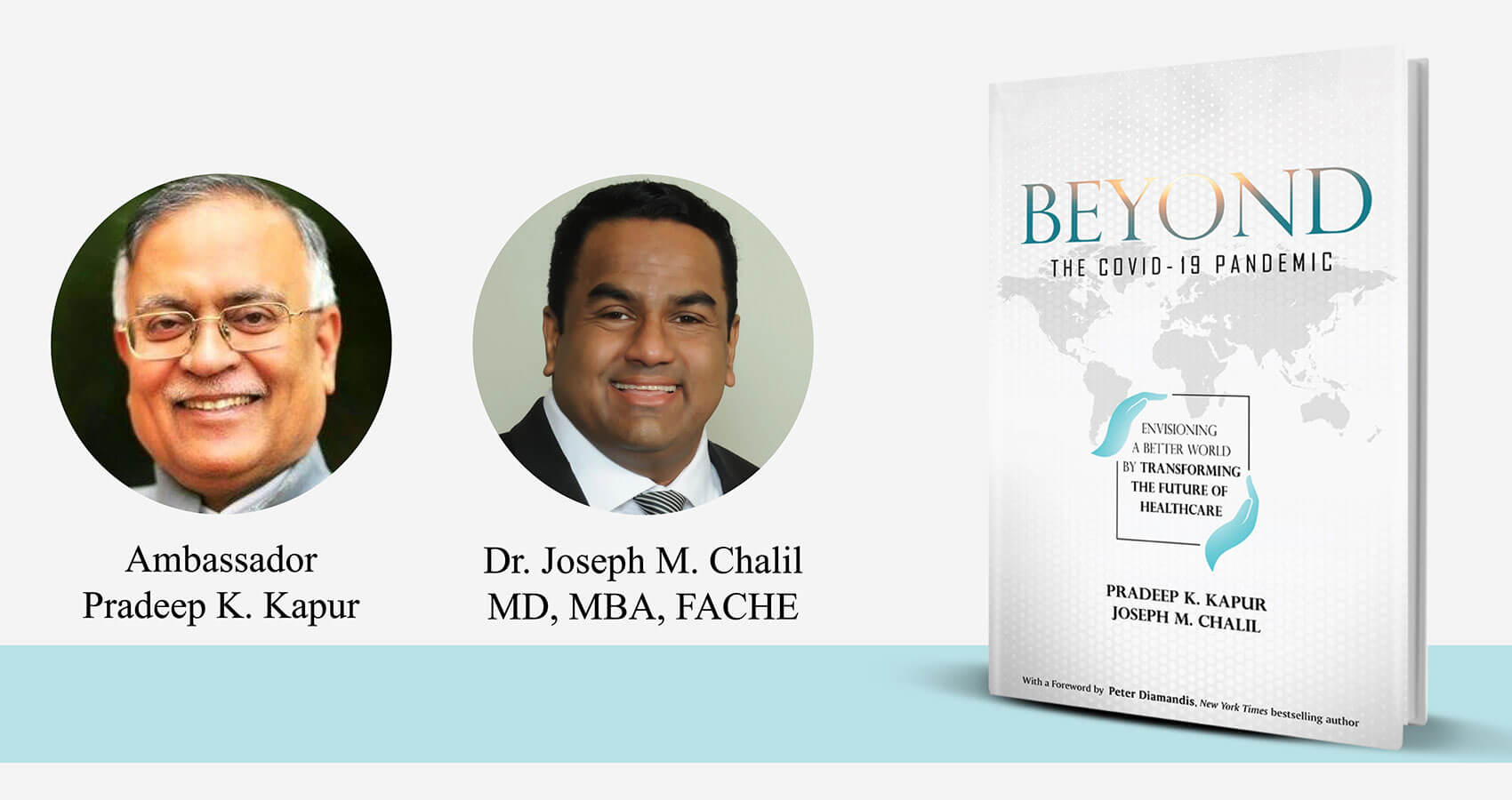"Beyond Covid-19, A Book By Dr. Chalil & Ambassador Kapur Is Now On ""Amazon Best Sellers List"""