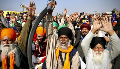 Protesting Indian Farmers Call For 2nd Strike In A Week By SHONAL GANGULY (AP News)