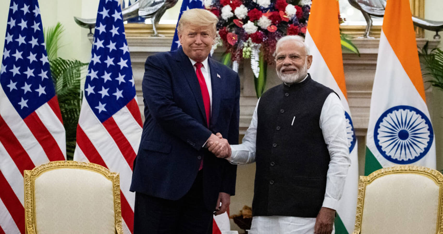 Trump Honours Modi With Legion of Merit Award