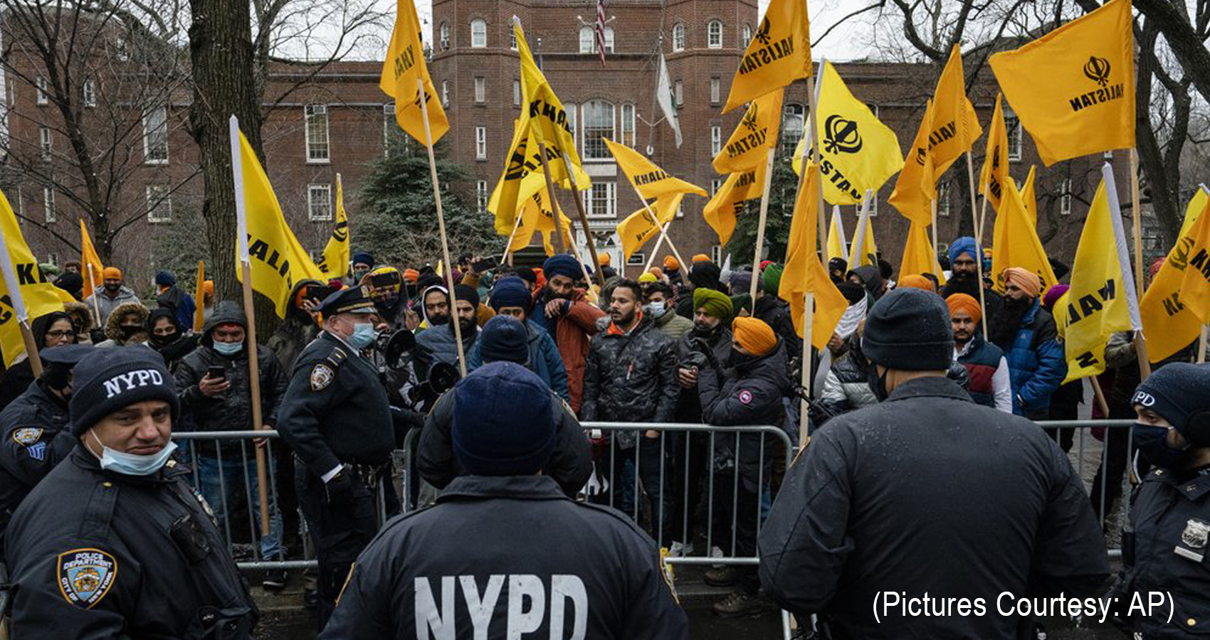 NRIS Supporting Indian Farmers, Organize Rally in New York City