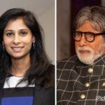 Big B Calls IMF Chief Economist Gita Gopinath A 'Beautiful Face'