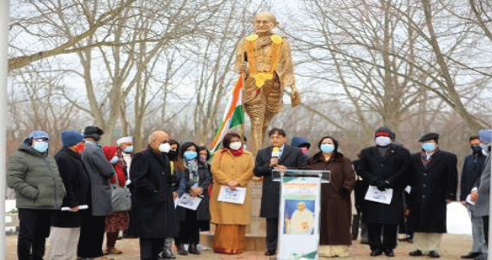 Gandhi Memorial Observes Gandhiji Punyatithi:  Shaheed Diwas In Chicagoland Asian Media USA