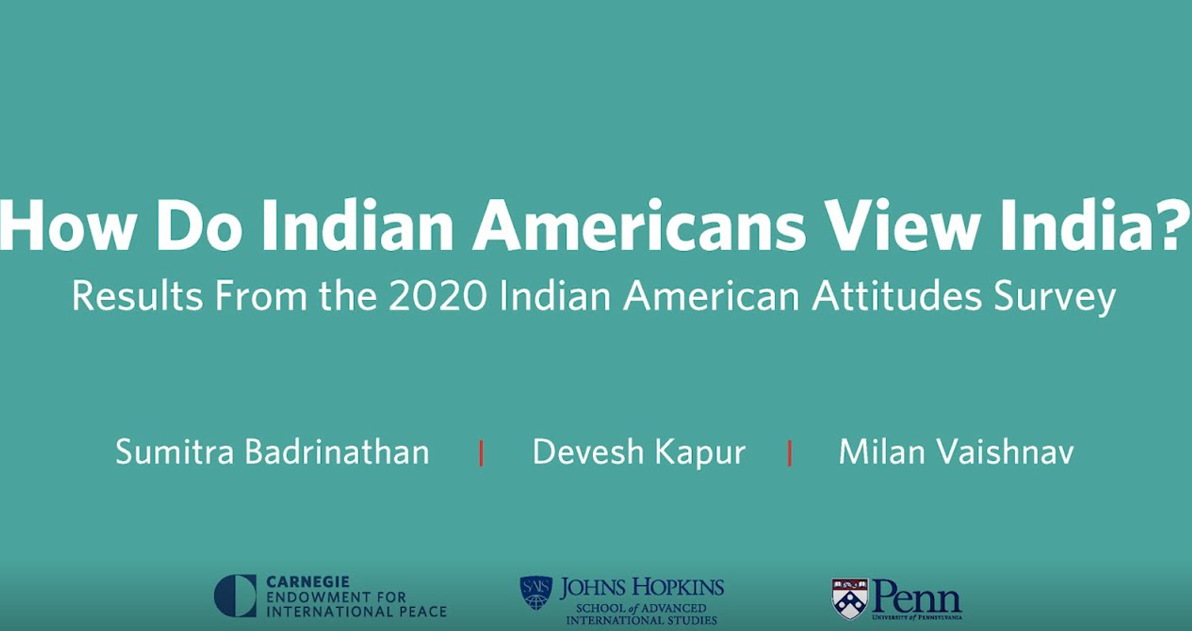 How Do Indian Americans View India?