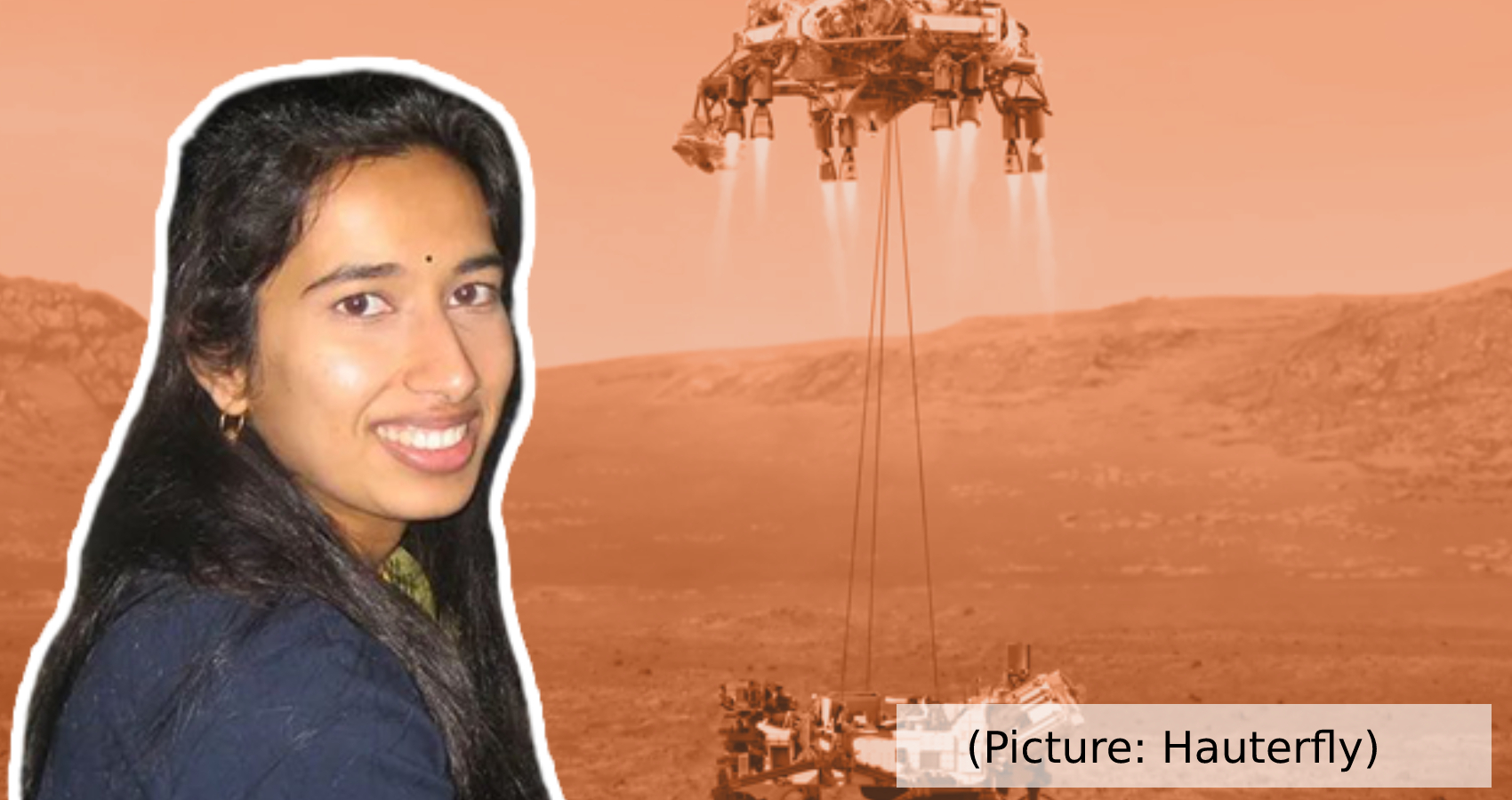 Swati Mohan At NASA's Perseverance Rover Mission