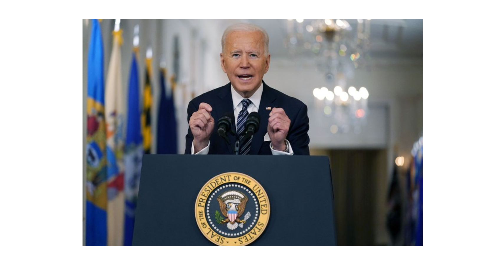 "Biden Aims For ""Independence From This Virus"" By 4th of July"