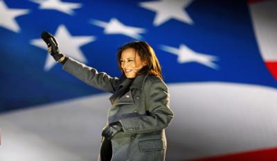 Kamala Harris Advocates American Jobs Plan At 1st Economic Speech Since Becoming VP