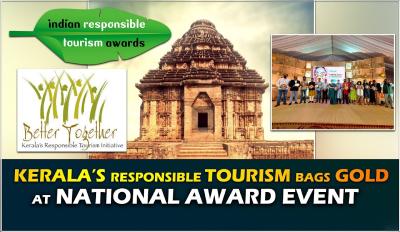 Kerala Bags Gold at the Indian Responsible Tourism Awards