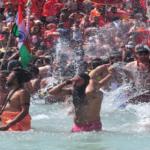 India's Coronavirus Tally Spikes As Millions  Take Ritual Bath At Kumph