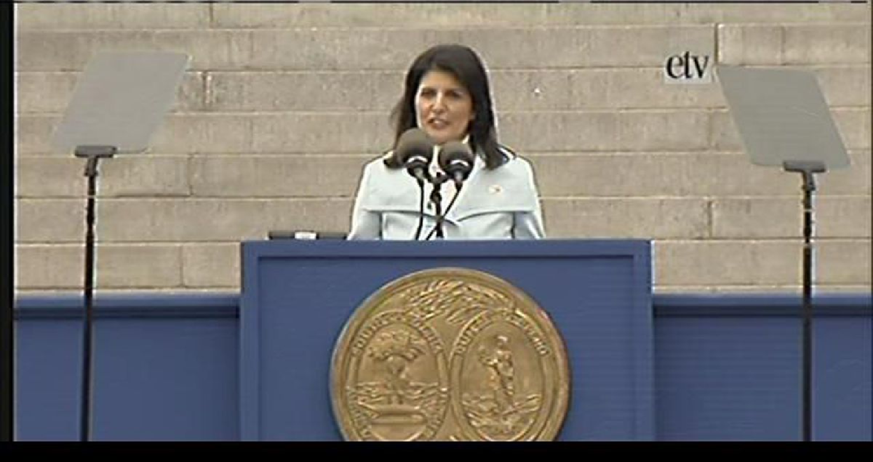 Nikki Haley Says She'll Support Trump, Stand Down If He Runs in 2024