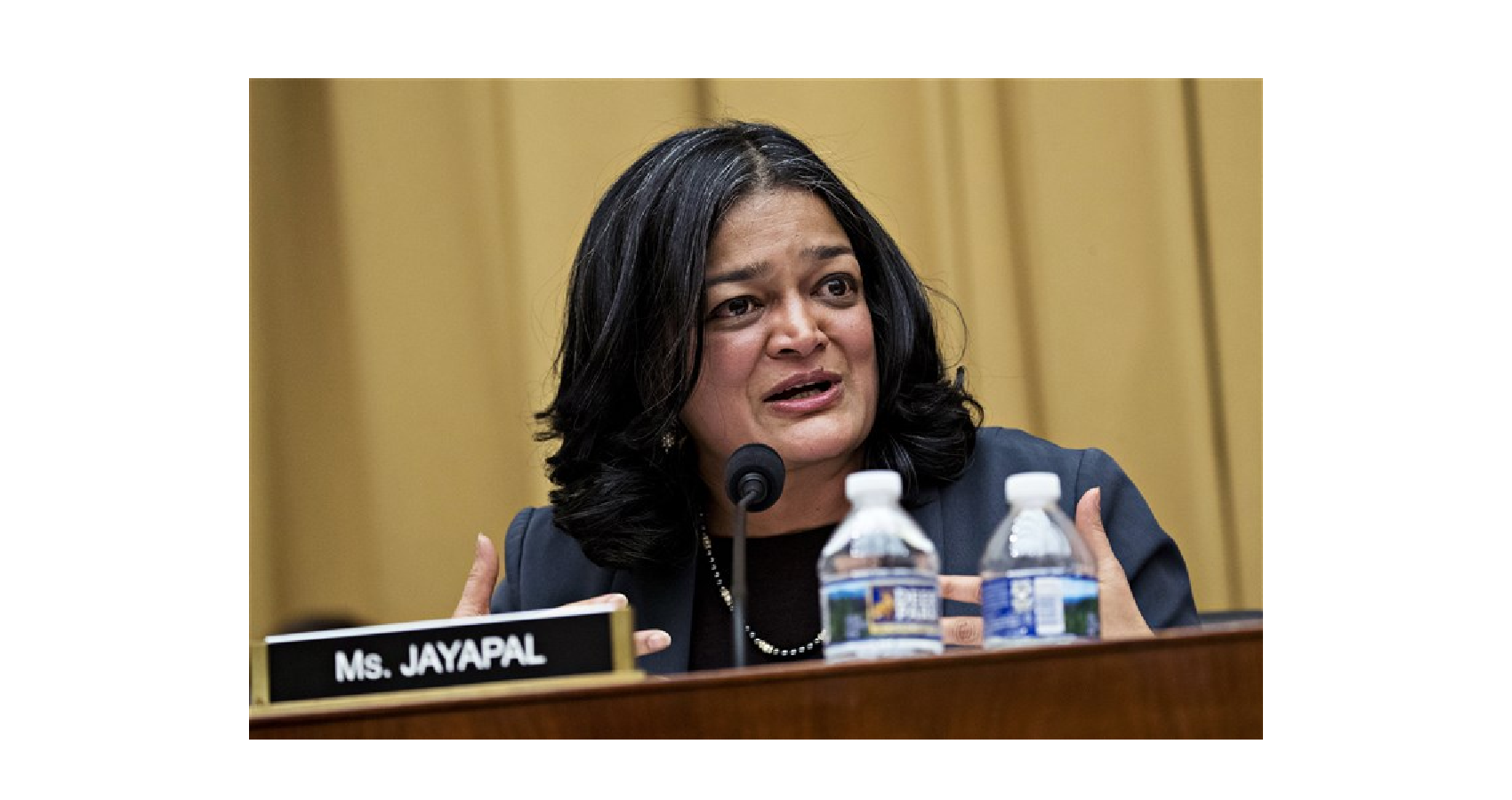 Rep. Pramila Jayapal Is Pushing Biden To Be More Progressive