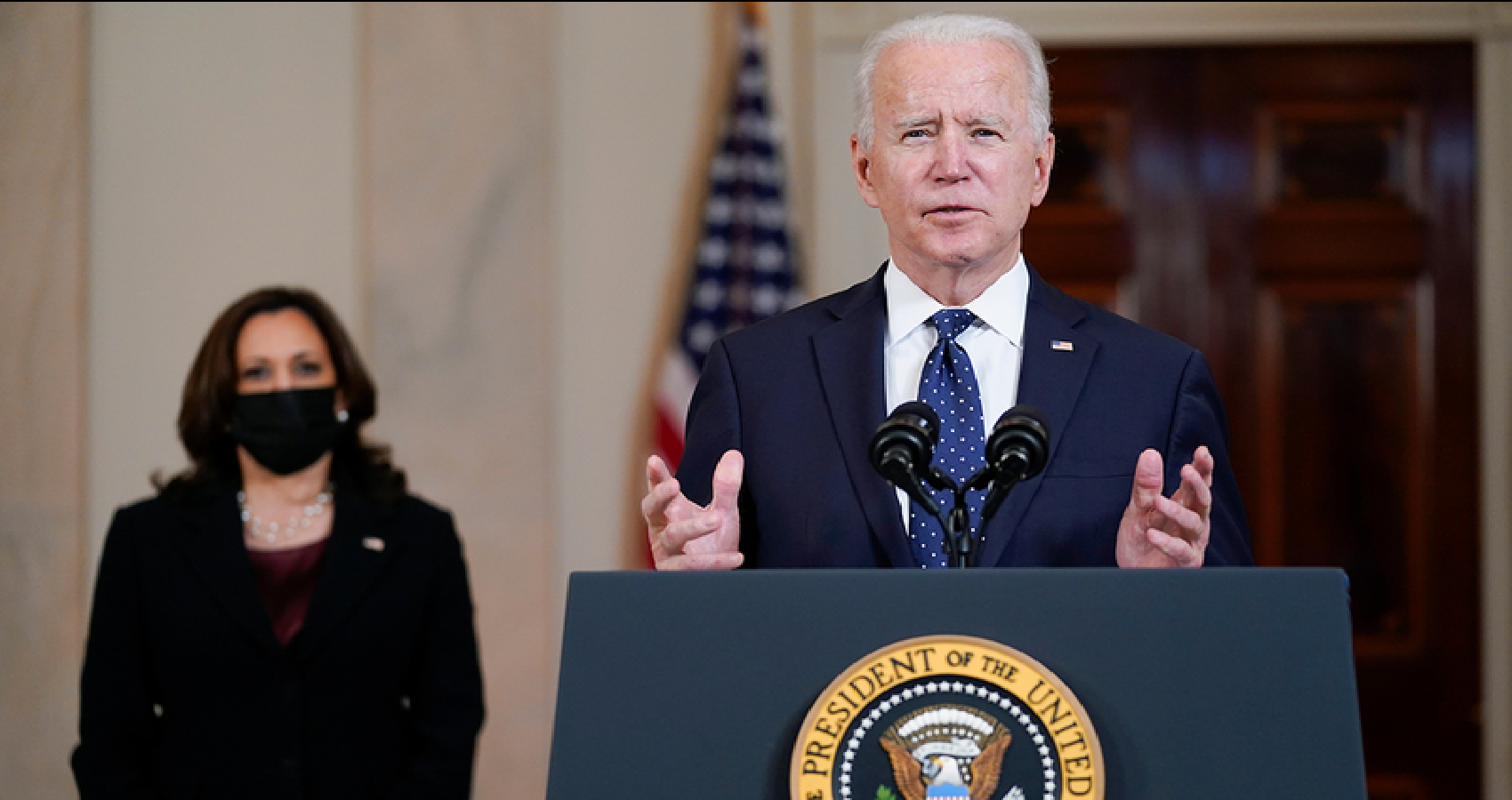 The Biden Has Stronger Support As He Nears 100-Days In Office