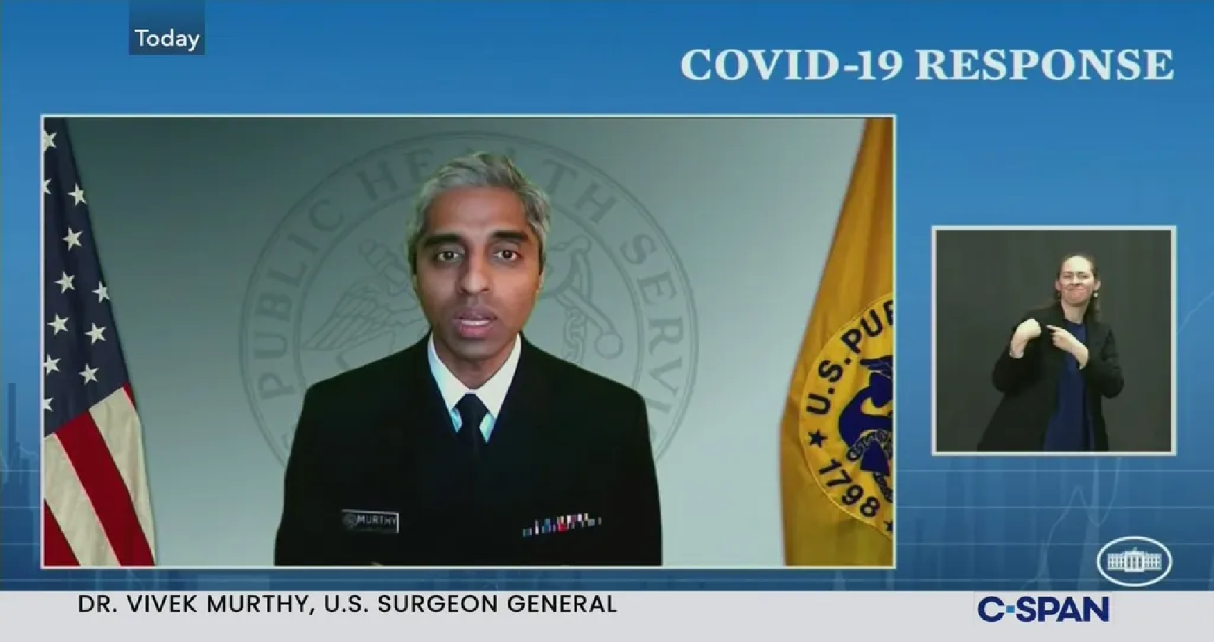 U.S. Surgeon General Vivek Murthy Says, Additional Funds To Places Hit disproportionately by COVID-19
