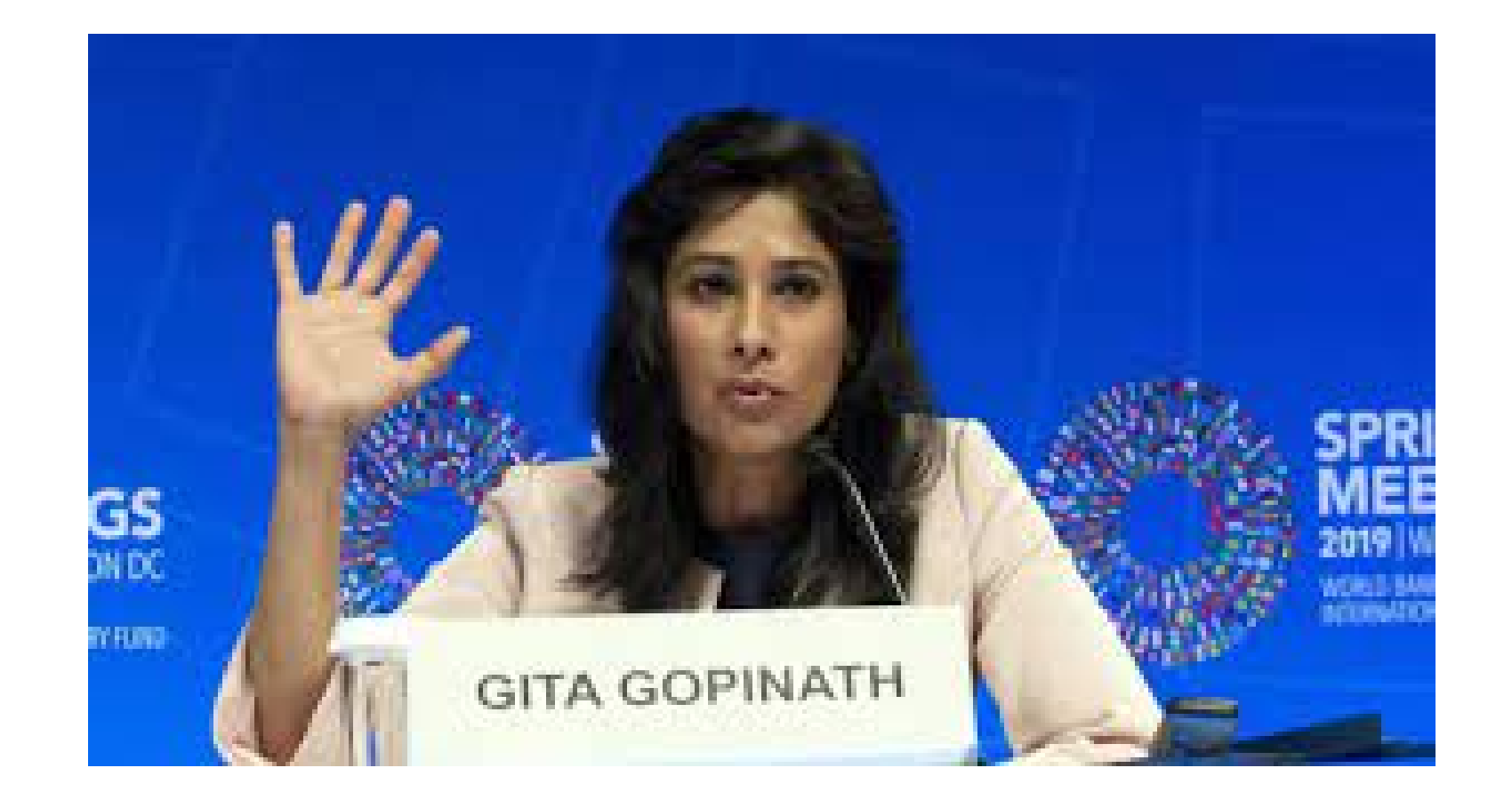 IMF Chief Economist Gita Gopinath Says, IMF Favors Global Minimum Corporate Tax