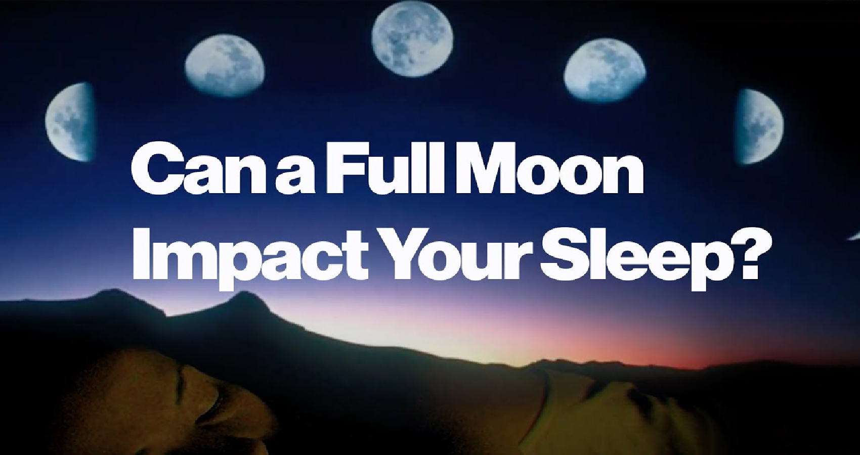 Does Moon Impact Your Sleep?