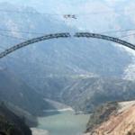 Indian Railways Completes Arch Closure Of Chenab Bridge, World's Highest Rail Bridge