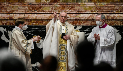 Pope Francis Hopes World Can 'Begin Anew' After The Pandemic