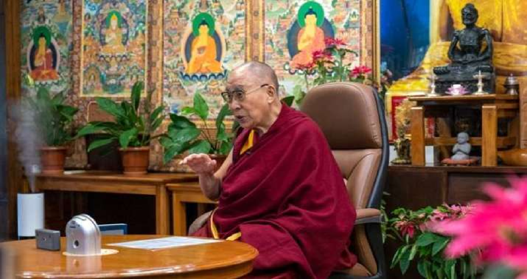 Dalai Lama Holds Dialogue With Russian Scientists On Research Into Buddhist Thukdam Meditation