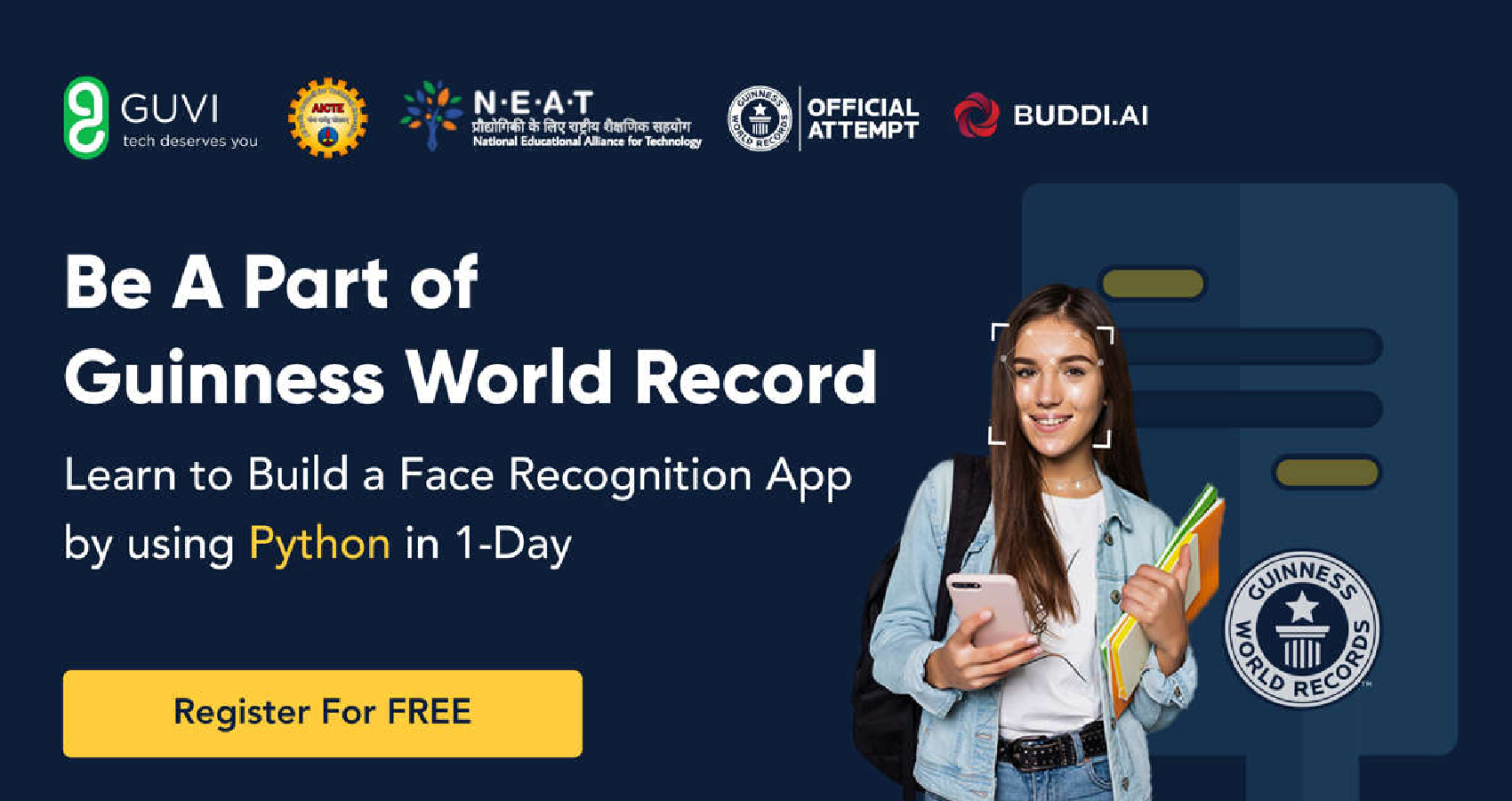 """India's Largest Online Workshop, """"AI-for-India,"""" Breaking Guinness World Record!"""