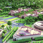 Amidst Deadly Pandemic, Work At Delhi's Rajpath As Central Vista Redevelopment Project Takes Shape