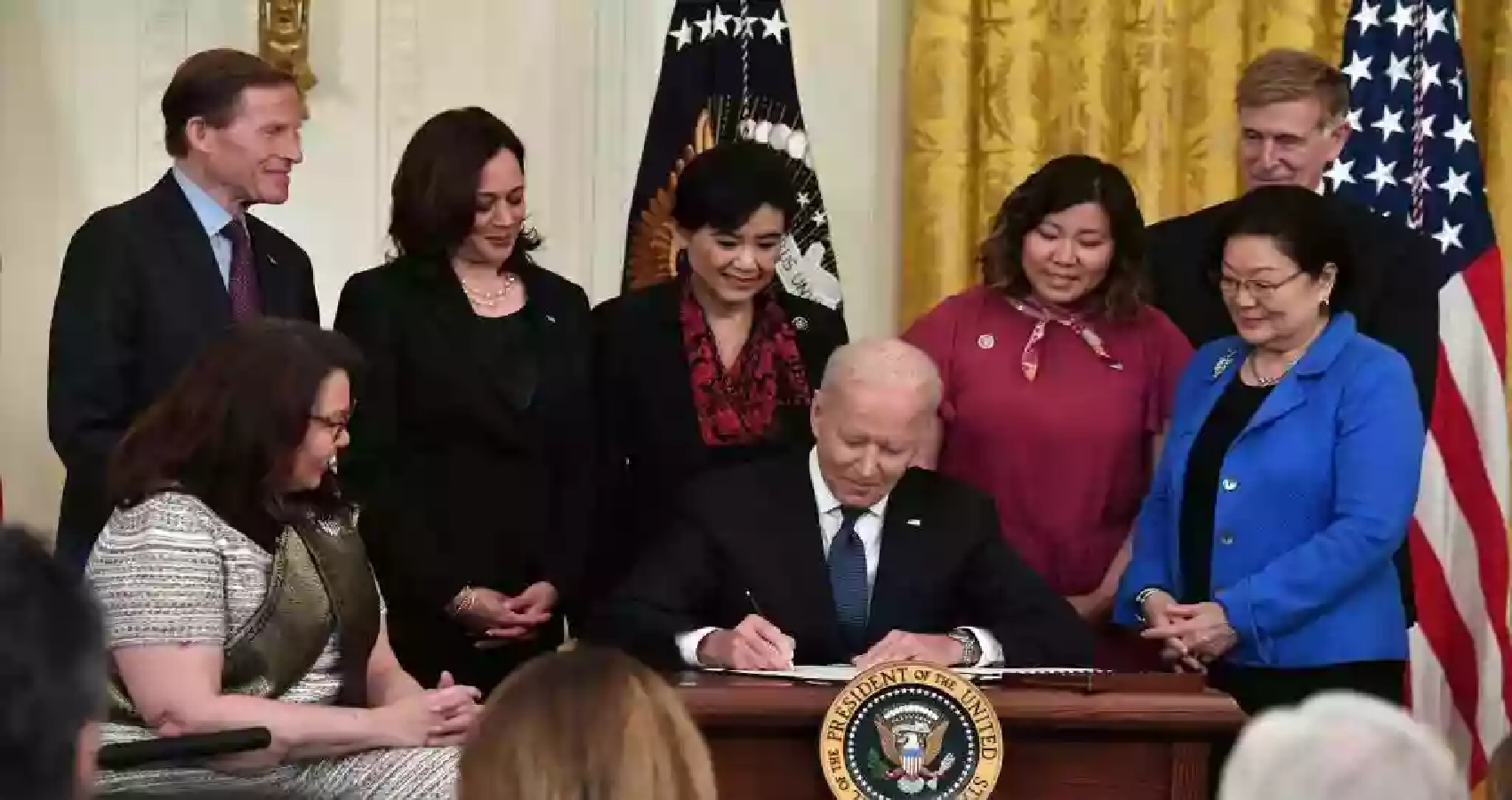 Biden Signs Covid-19 Hate Crime Act