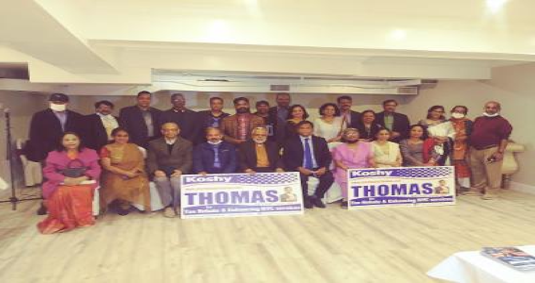 With Strong Support From Communities, Koshy Thomas' Candidacy for District 23 of NYC Council Gaining momentum