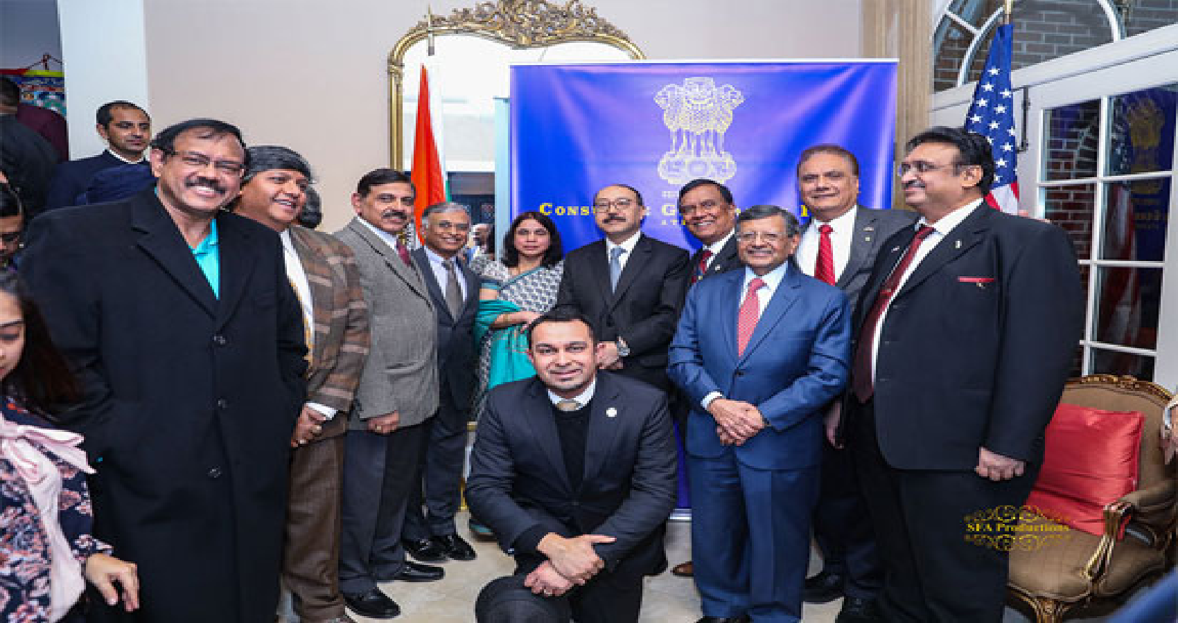 Indian American International Chamber of Commerce Meets Law Makers