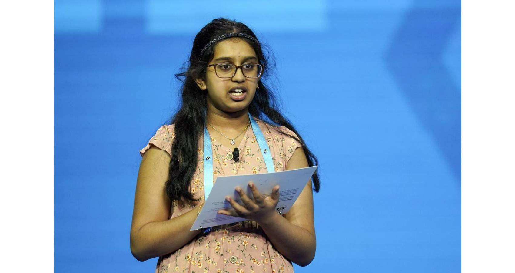 Chaitra Thummala Is Runner Up In Scripps National Spelling Bee