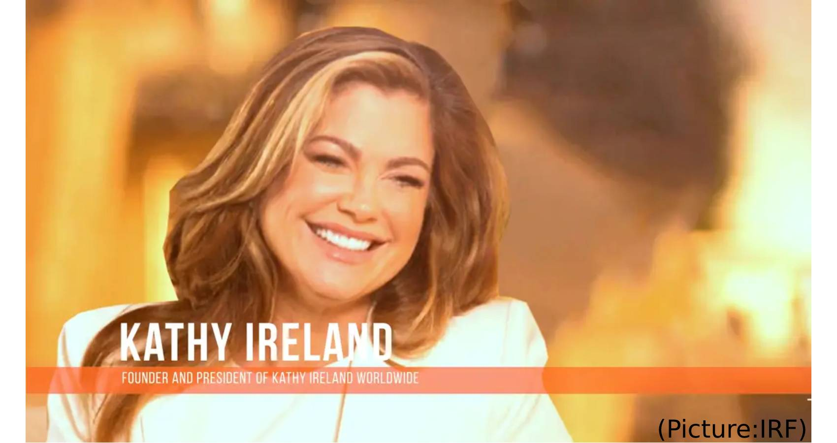 Kathy Ireland To Be Honored For Work Advancing International Religious Freedom (IRF)