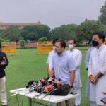 Rahul Gandhi Accuses Modi Of 'Treason,' Demands Home Minister's Resignation