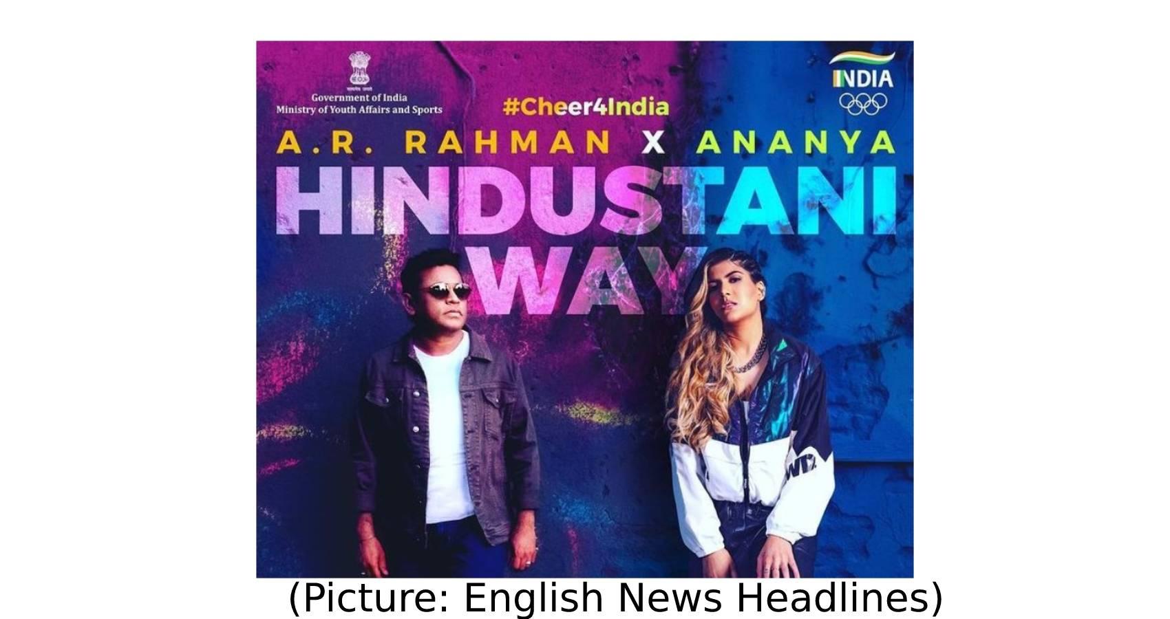 A R Rahman & Ananya Create India's Olympics Anthem