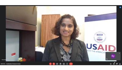 Veena Reddy Becomes USAID Mission Director