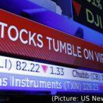 Stocks Tumble As COVID-19 Fears Rise