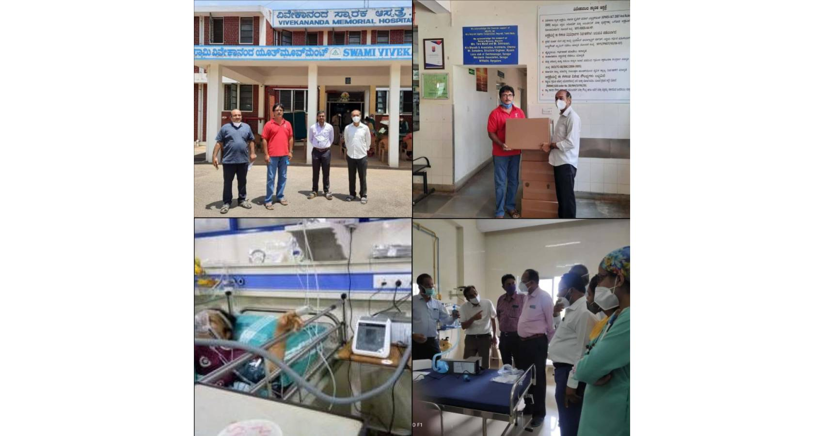 Dr. Amit Chakrabarty Leads Efforts On CO VENTILLLATORS DONATION Project For India