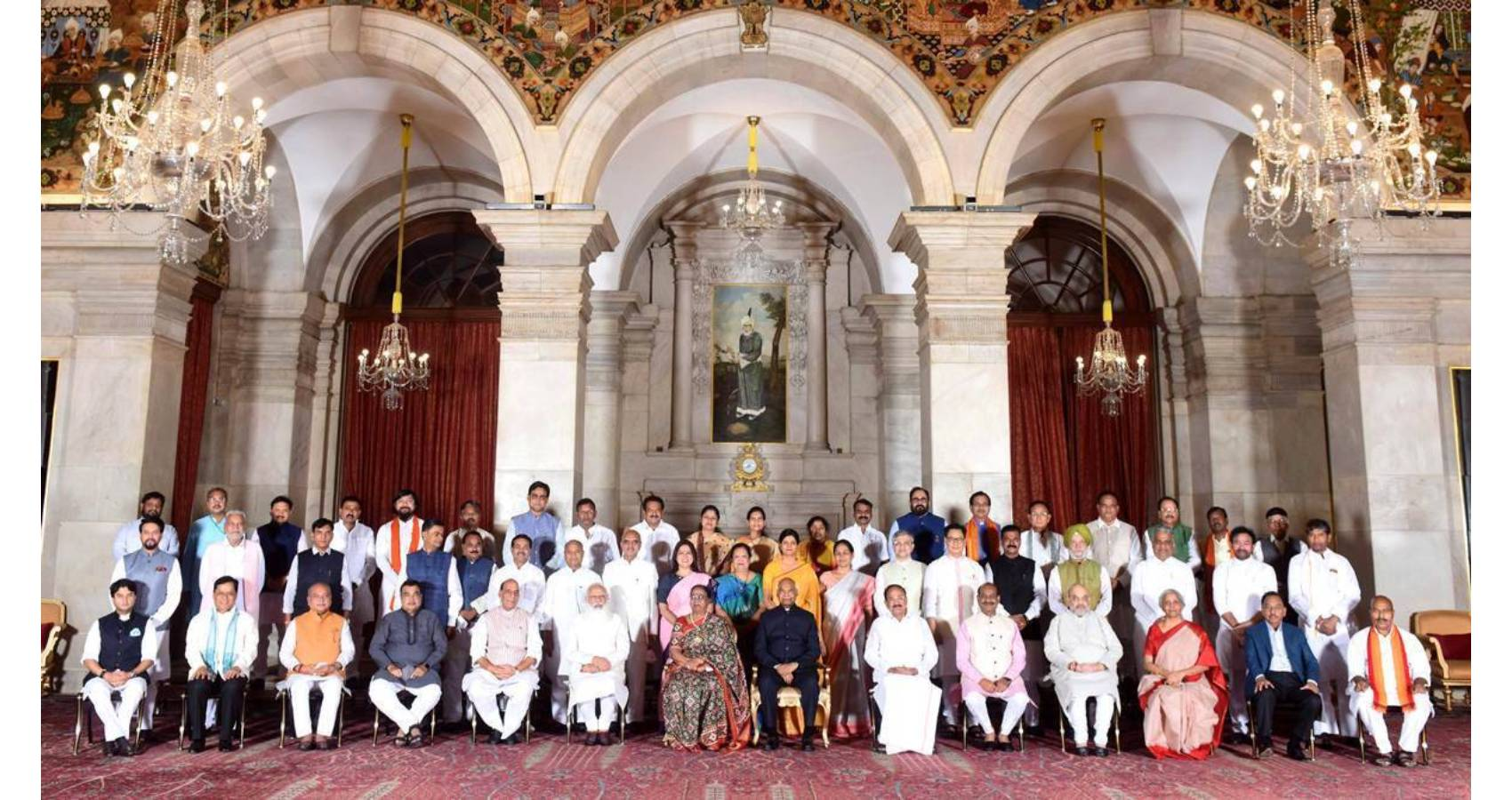 Over 4 In 10 Of Modi's New Council Of Ministers Have Criminal Cases, 90% Are Millionaires