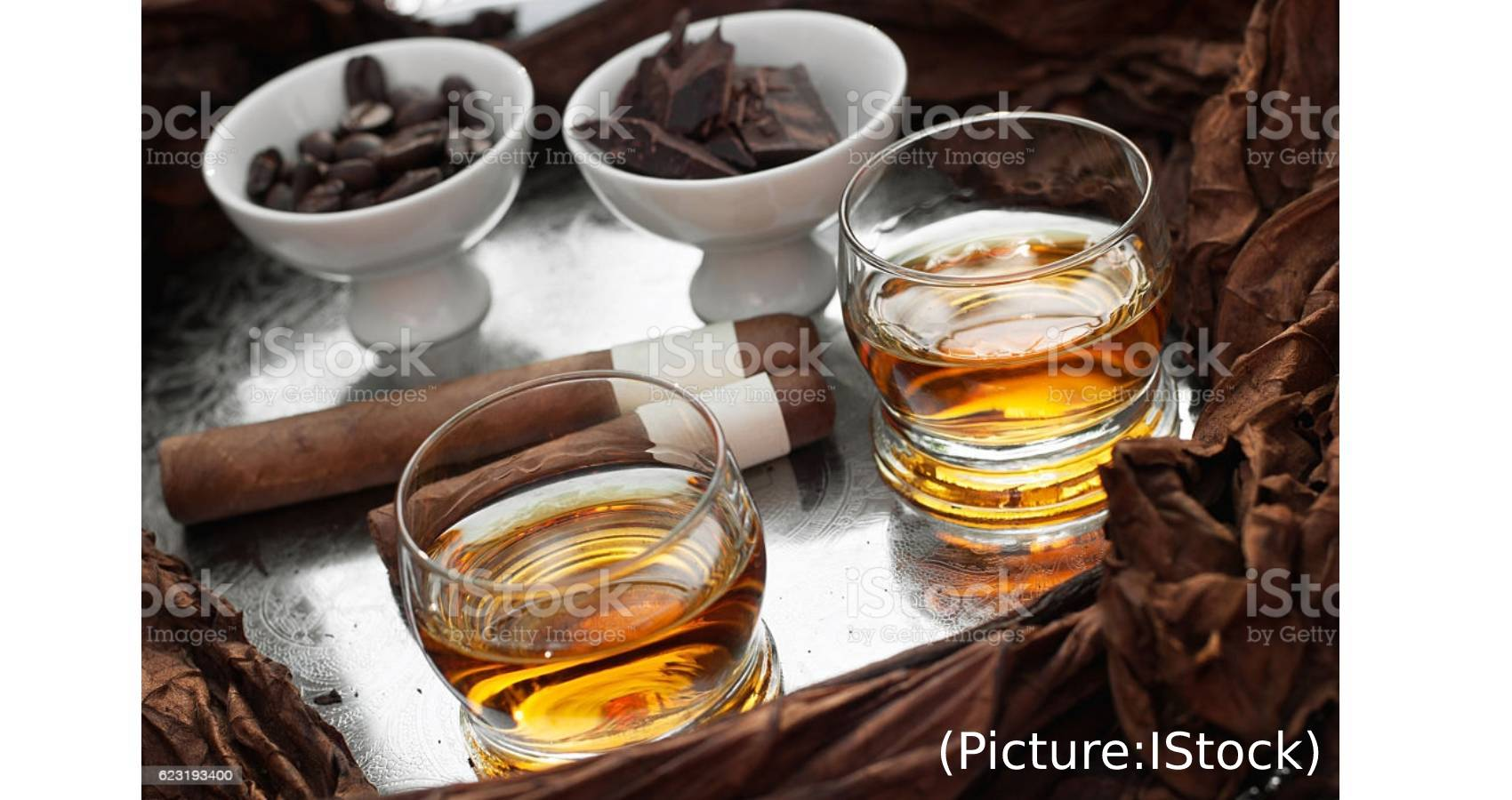Chocolate With Whisky And Rum