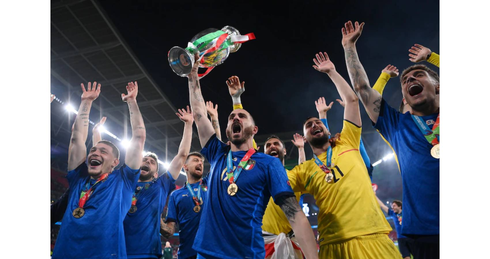 Italy Crowned 2020 European Champions Against England In A 3-2 Penalty Shootout