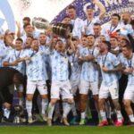 Argentina 1-0 Victory Over Brazil In Copa America Final
