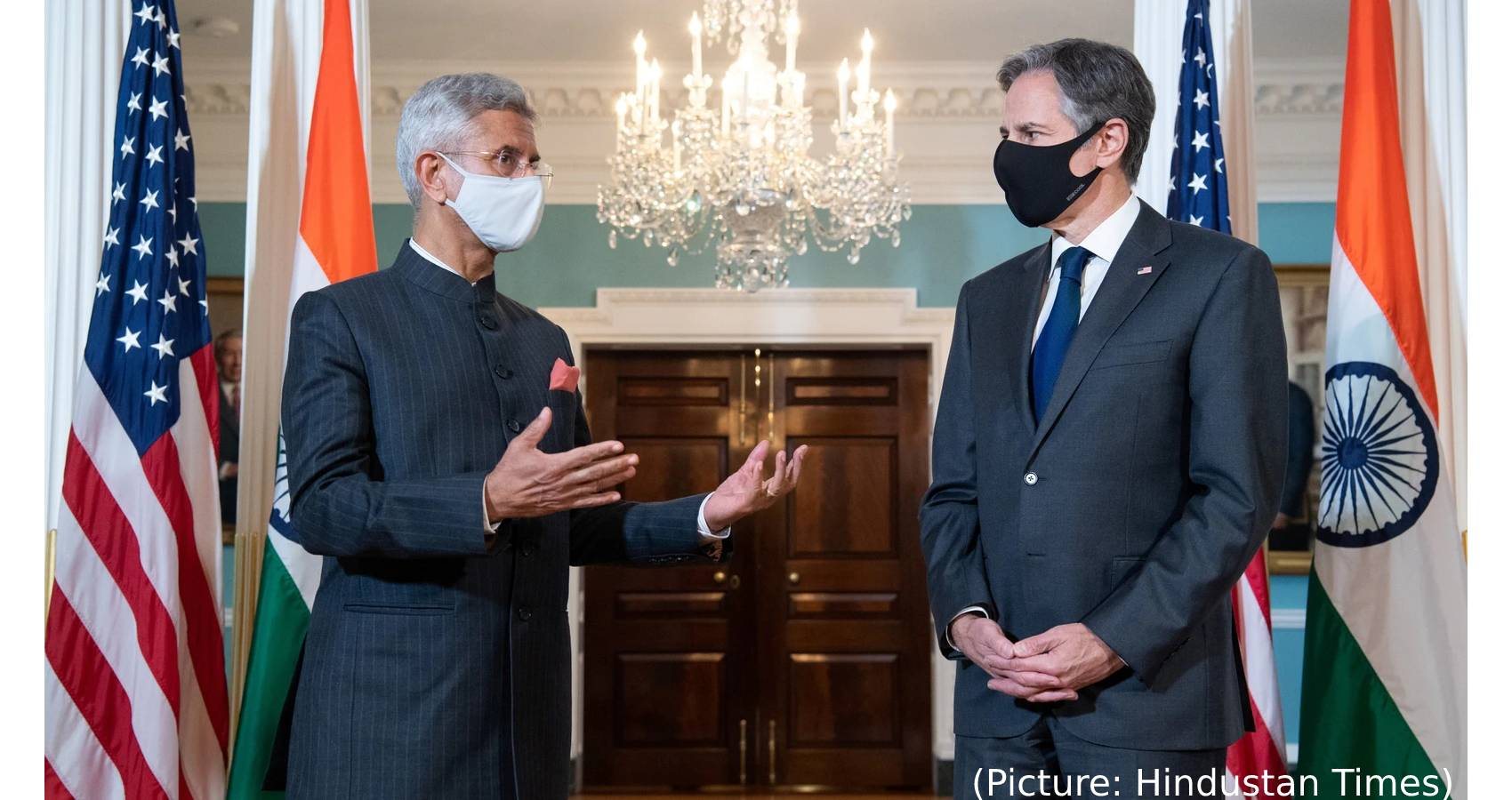 """""""All People Deserve To Have A Voice In Their Government And Be Treated With Respect""""  US Secretary Blinken Declares During Visit To India"""