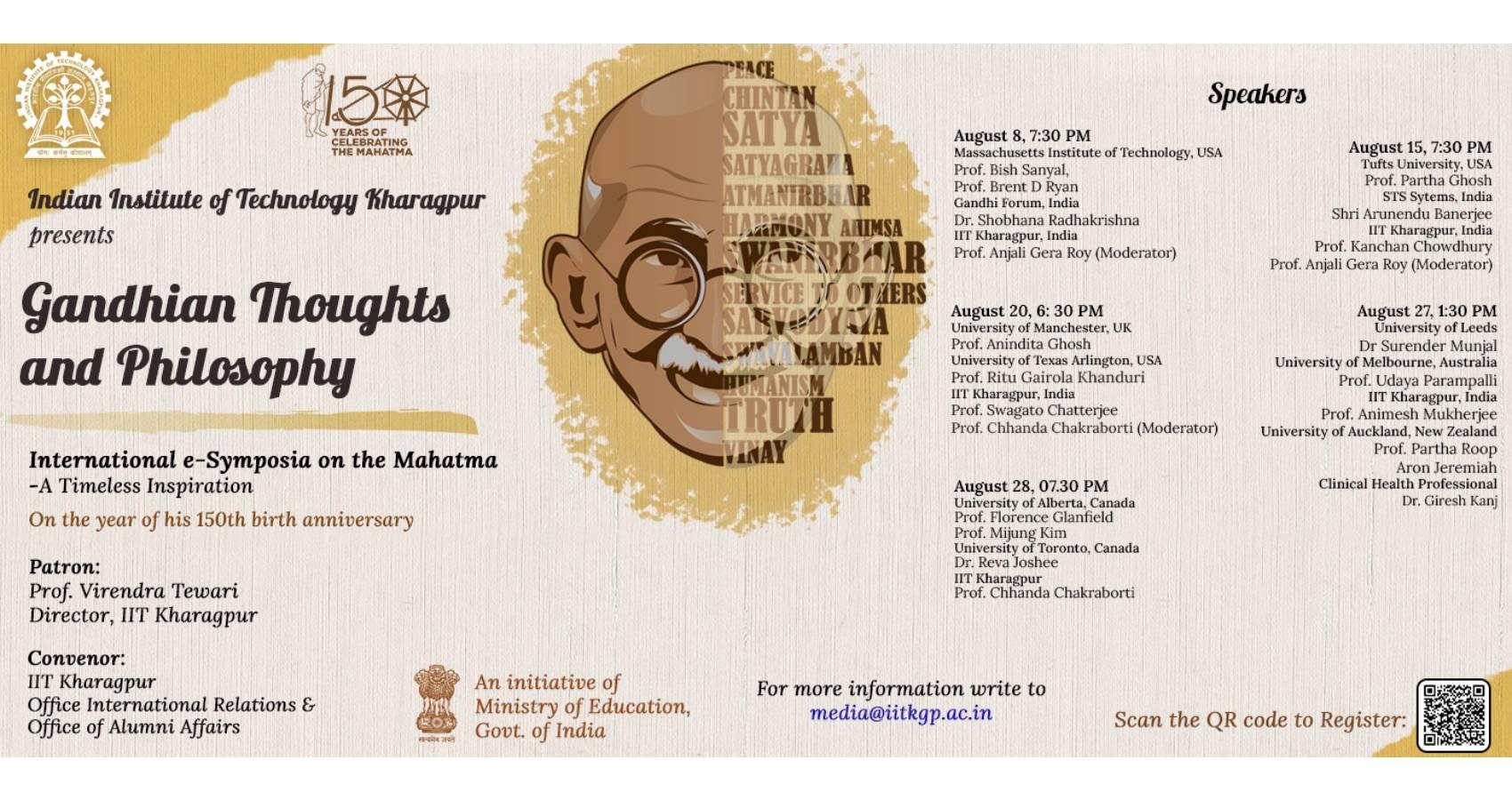 Gandhian Philosophy Courses Offered Online