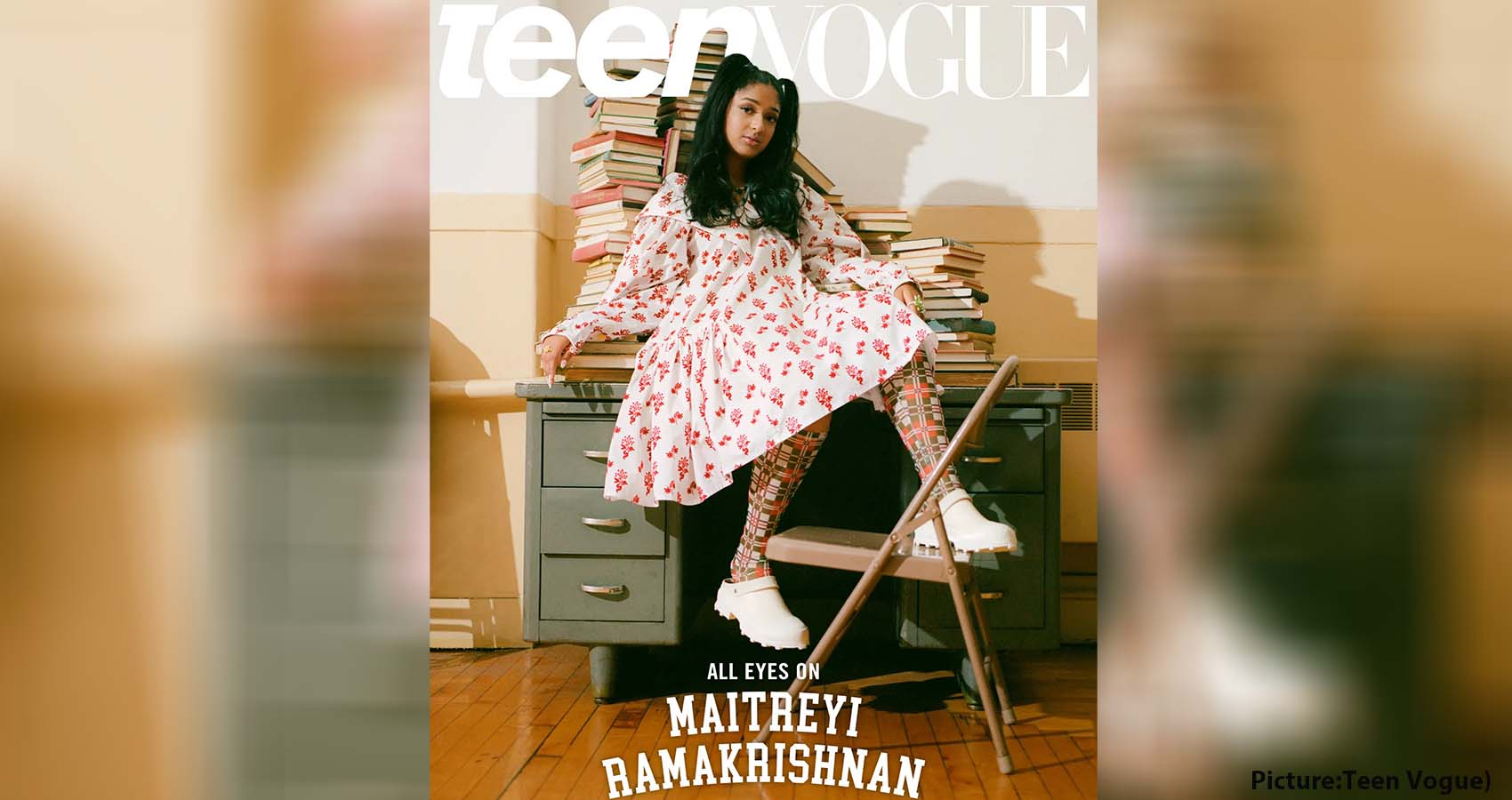 Maitreyi Ramakrishnan On Teen Vogue Cover