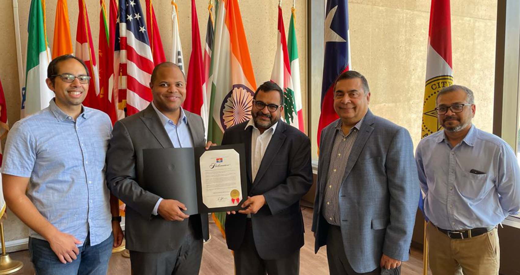Texas Governor & Dallas Mayor Proclaim August 15th As India Day
