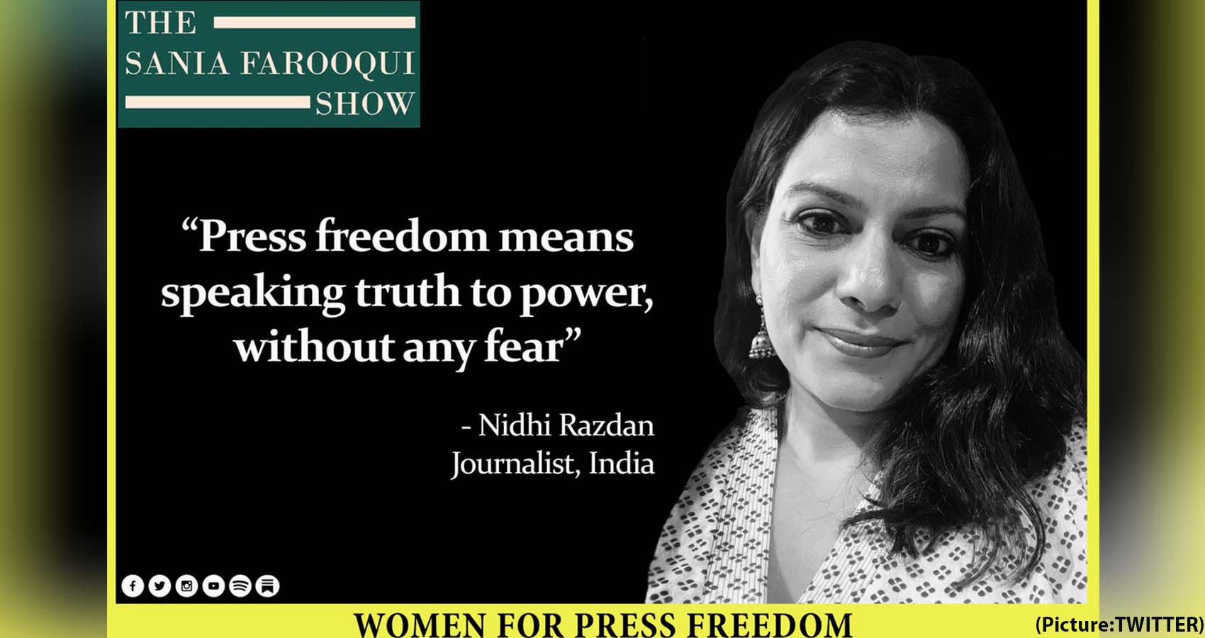 'Proud Of Being Able To Speak The Truth:' Journalist Nidhi Razdan On Her Cyber Attack