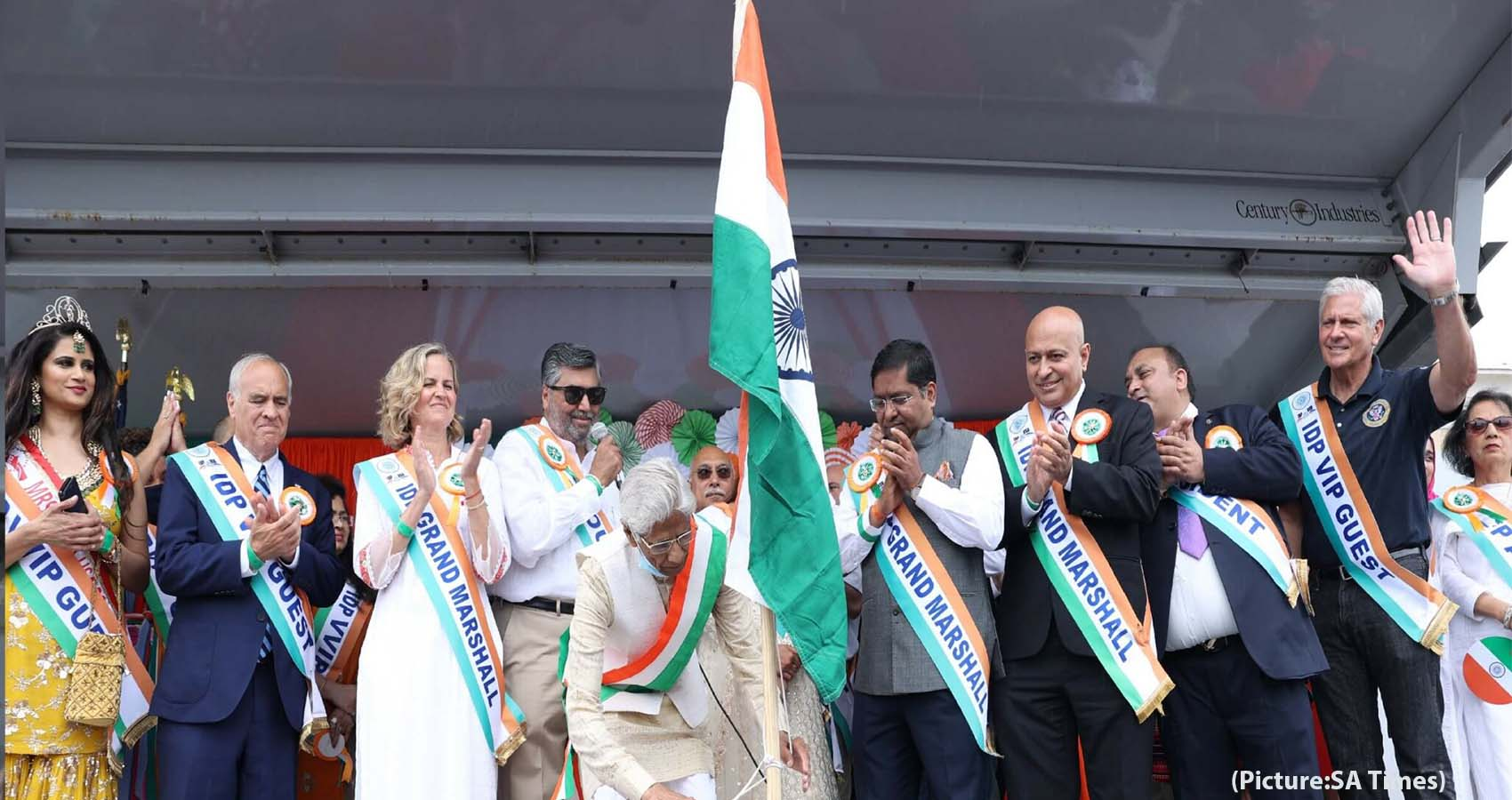 Long Island Community Hosts 10th India Day Parade in New York