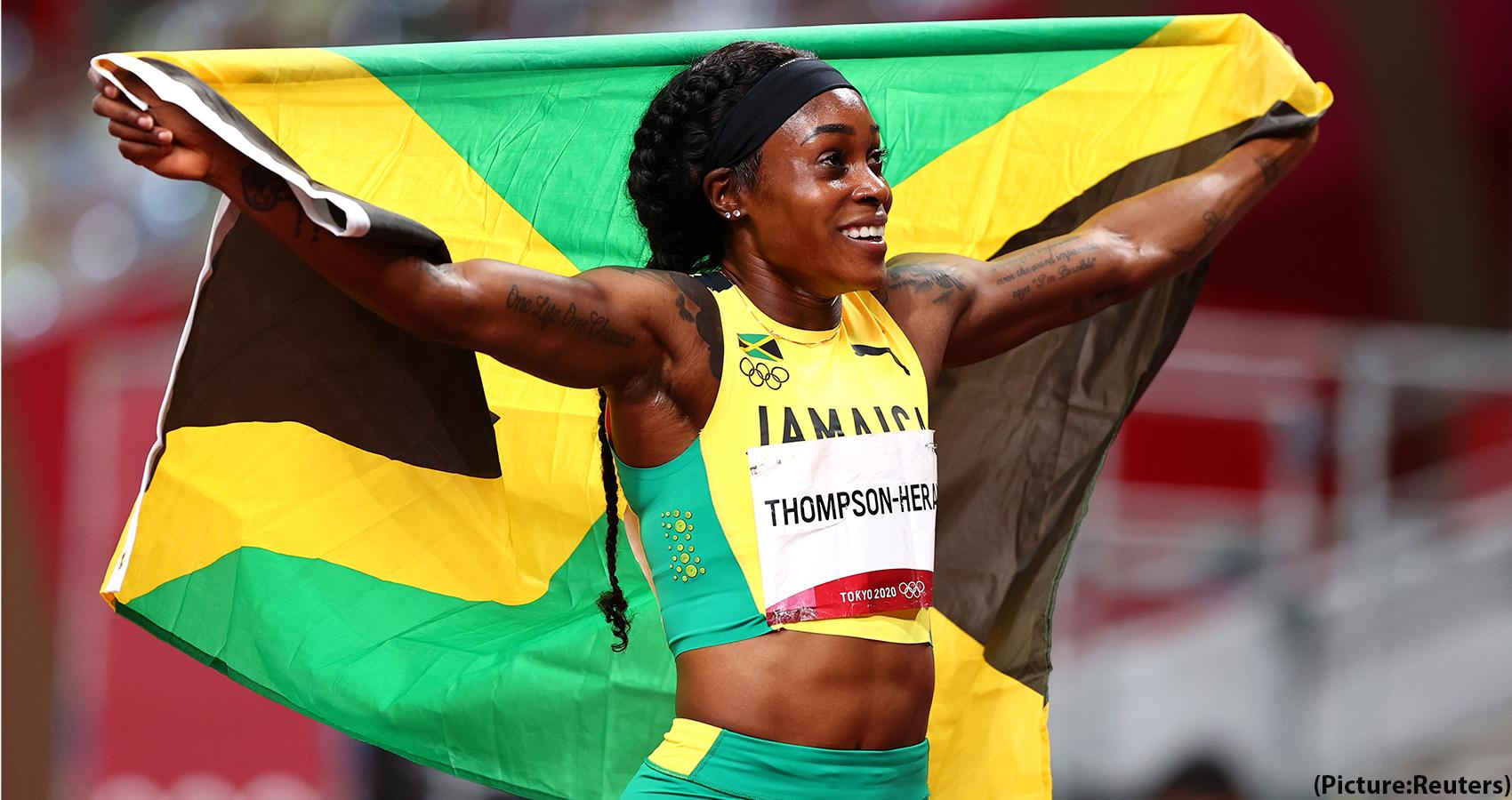 Elaine Thompson-Herah Is Second Fastest Runner In Women's 100m History
