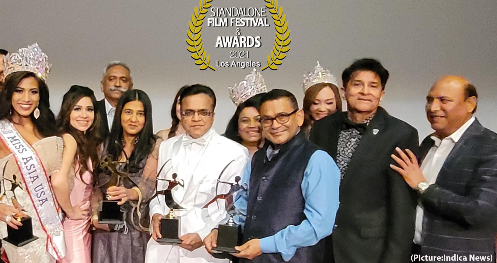 Filmmaker Mukesh Modi Wins At India Fest