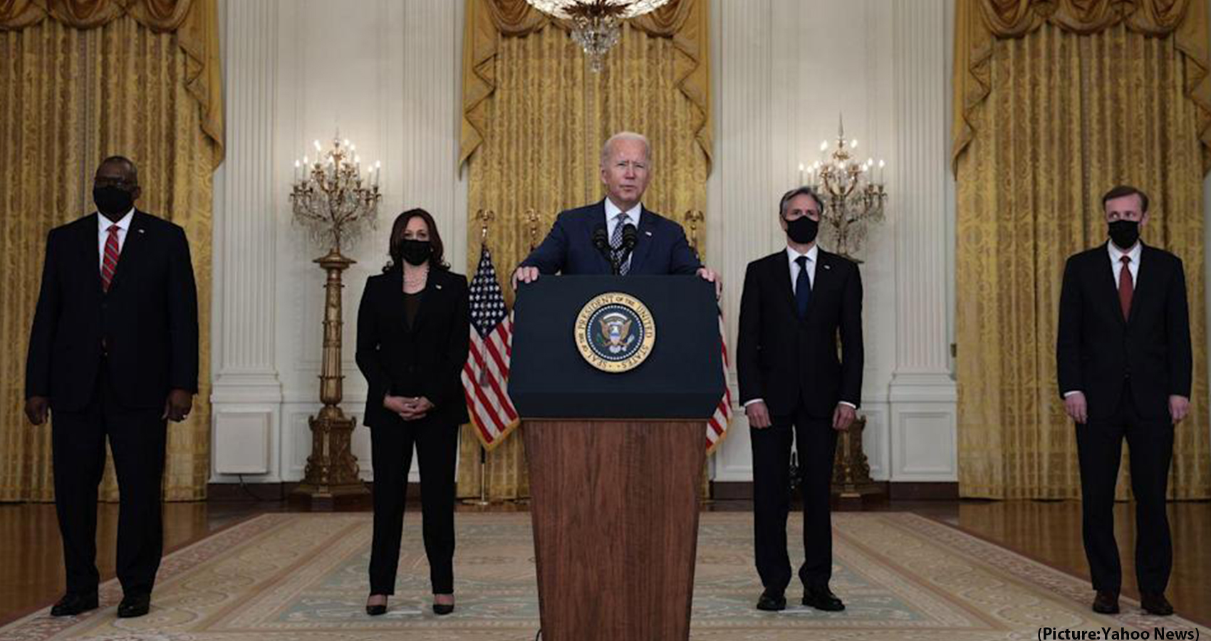 Biden Is Firm On Aug. Deadline For US troops Withdrawal