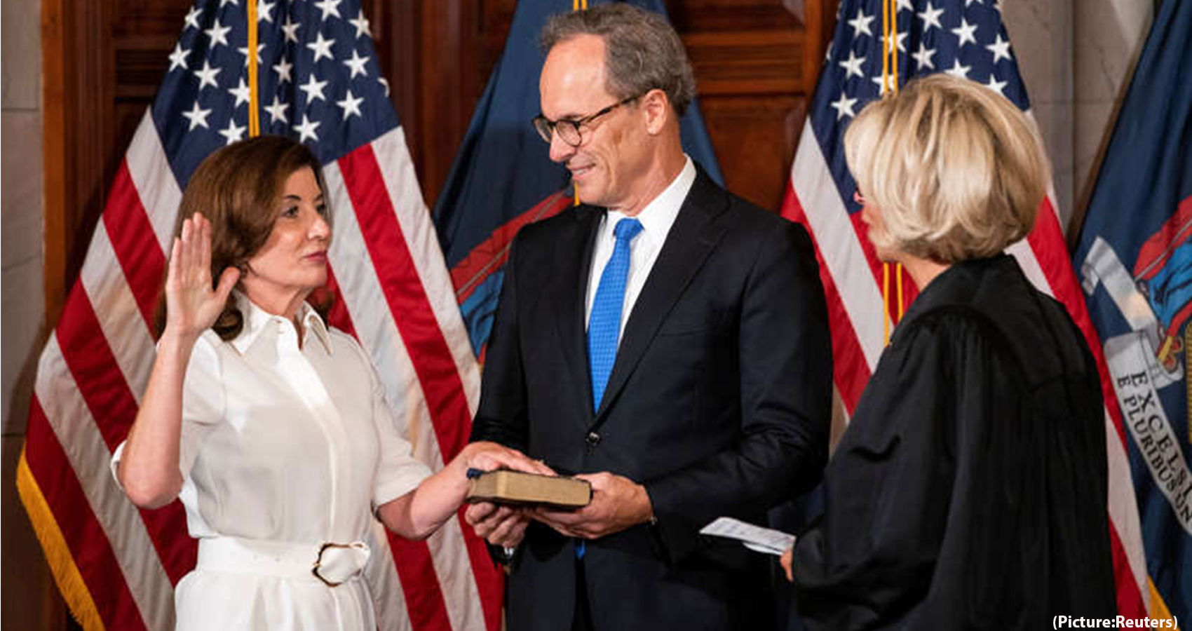 New York has her first ever woman Governor
