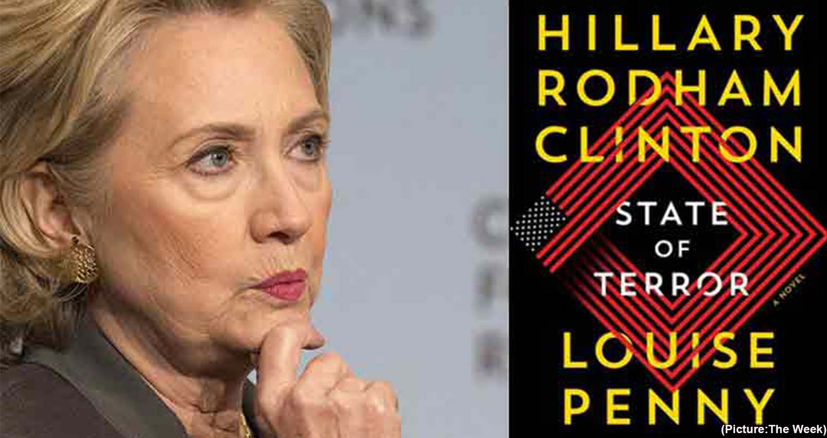Hillary Clinton Turns Thriller Writer with 'State of Terror'
