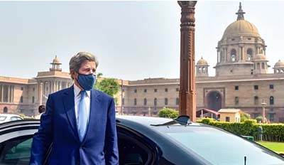 John Kerry Lauds India's Efforts To Address Climate Change