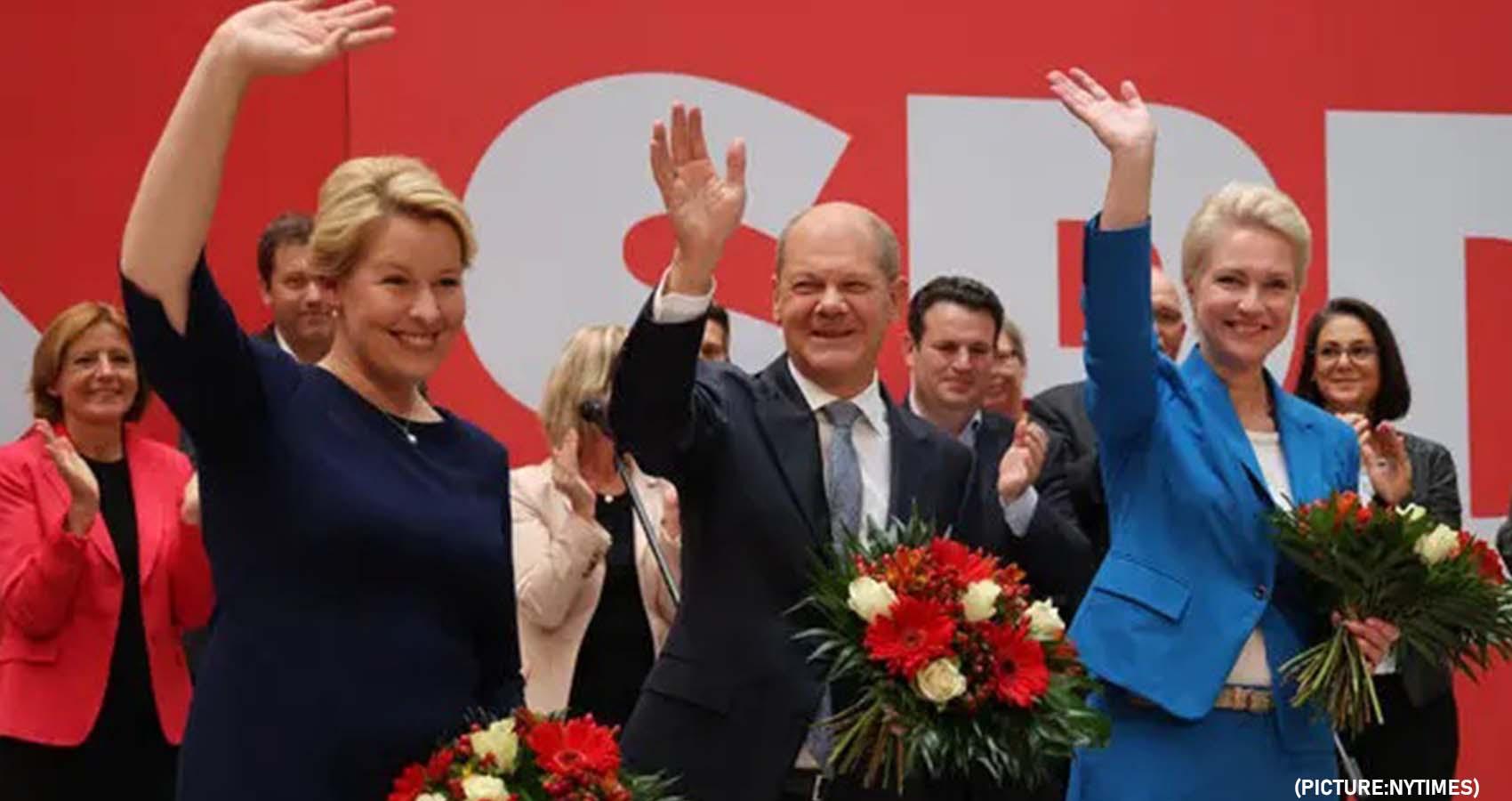 Center-Left Parties Defeat Merkel's Party In German Elections